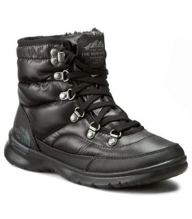 Botas The North Face Thermoball Lace II Mujer Negro. Oferta y Comprar online