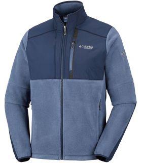 Chaqueta polar Columbia Titan Frost Fleece Hombre Azul