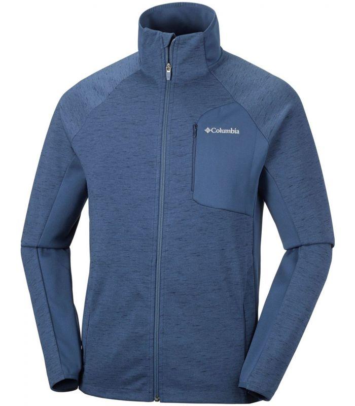 Compra online Chaqueta polar Columbia Marley Crossing Hombre Azul en oferta al mejor precio