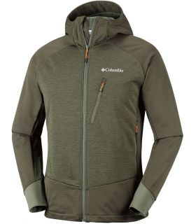 Chaqueta Soft Shell Columbia Steel Cliff Hooded Hombre Kaki
