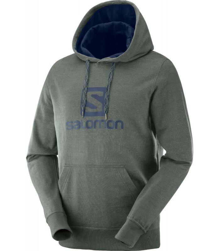 Compra online Sudadera Salomon Logo Hoodie Hombre Urban Chic en oferta al mejor precio
