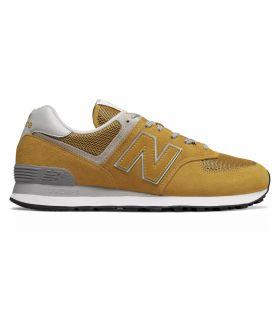 Zapatillas New Balance ML574 Hombre Amarillo