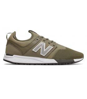 Zapatillas New Balance MRL247 Hombre Kaki Blanco. Oferta y Comprar online