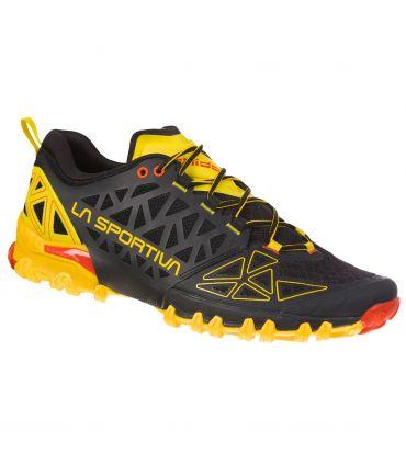Zapatillas La Sportiva Bushido II Hombre Negro Amarillo