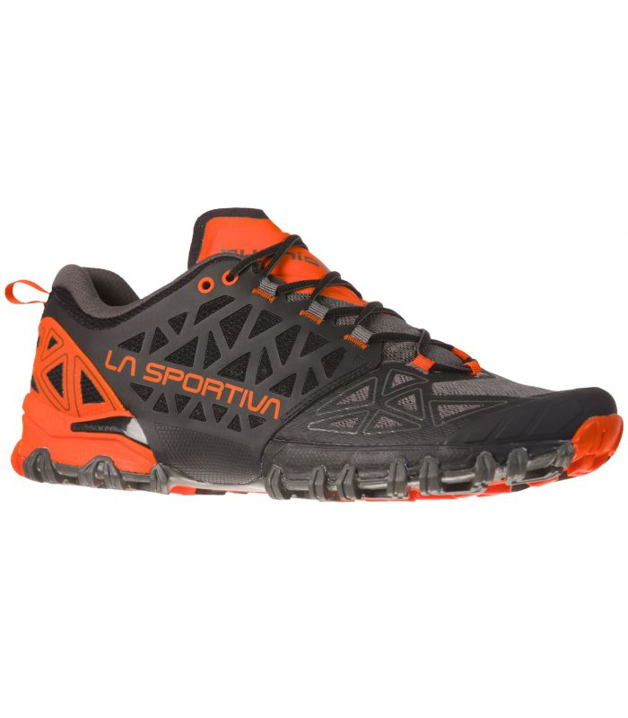 Compra online Zapatillas La Sportiva Bushido II Hombre Carbon en oferta al mejor precio