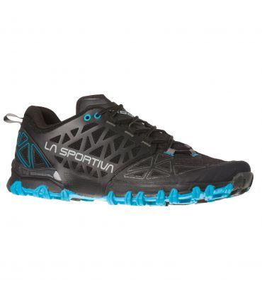 Zapatillas La Sportiva Bushido II Hombre Black Tropic Blue