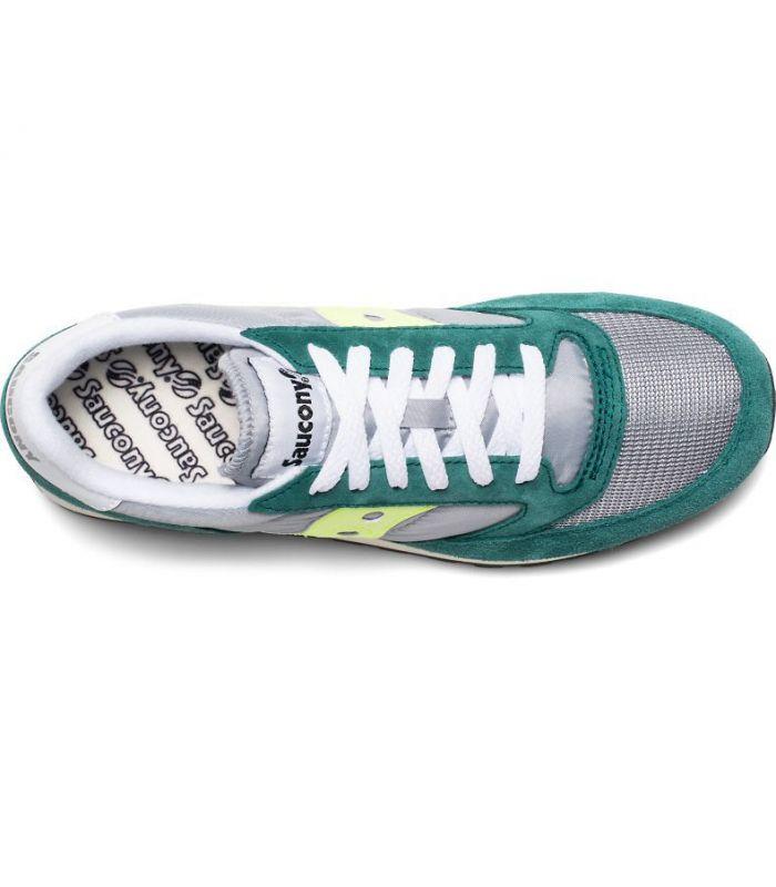 Compra online Zapatillas Saucony Jazz Original Vintage Hombre Verde Gris en oferta al mejor precio