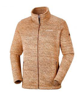 Chaqueta Columbia Boubioz Fleece Hombre Canyon Gold. Oferta y Comprar online
