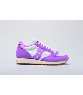 Saucony Jazz Original Vintage Purpura y Blanco. Oferta y Comprar online