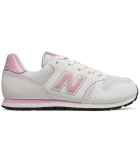 Zapatillas New Balance YC373 Blanco Rosa