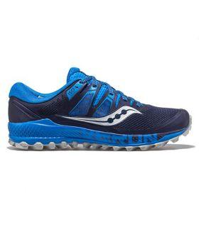 Zapatillas Saucony Peregrine ISO Hombre Azul