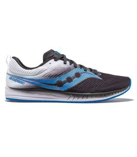 Saucony FASTWITCH 9 Negro y Blanco Hombre