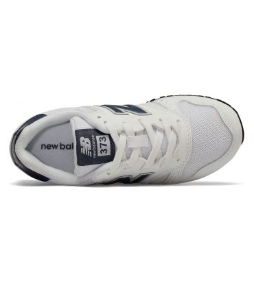 Zapatillas New Balance YC373 Blanco Navy
