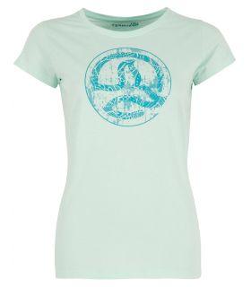 Camiseta Ternua Tonopah Mujer White Jade. Oferta y Comprar online