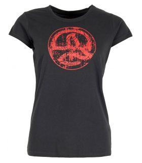 Camiseta Ternua Tonopah Mujer Whales Grey. Oferta y Comprar online