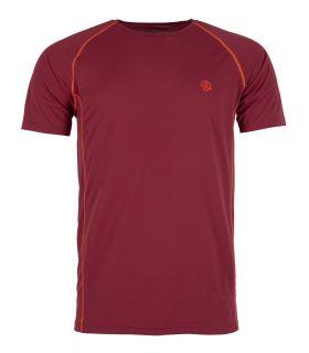 Camiseta Ternua Undre Hombre Burgundy