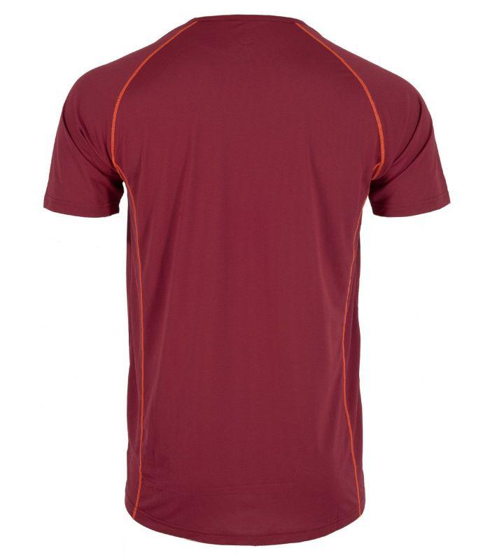 Compra online Camiseta Ternua Undre Hombre Burgundy en oferta al mejor precio