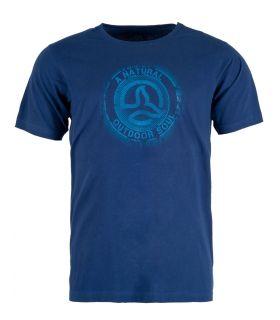 Camiseta Ternua Zukur Hombre Vibrant Marine