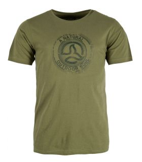 Camiseta Ternua Zukur Hombre Forest. Oferta y Comprar online