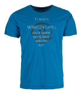 Camiseta Ternua Yojoa Hombre Deep Duck Blue
