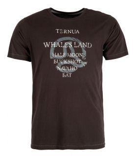 Camiseta Ternua Yojoa Hombre Negro. Oferta y Comprar online