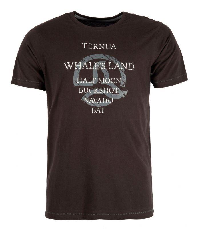 Camiseta Ternua Yojoa Hombre Negro
