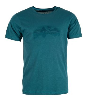 Camiseta Ternua Alutu Hombre Dark Lagoon