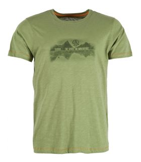 Camiseta Ternua Alutu Hombre Forest