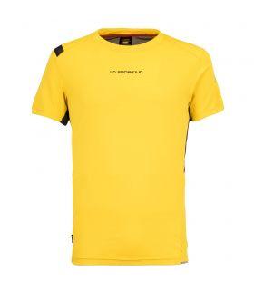 Camiseta La Sportiva Blitz Hombre Amarillo. Oferta y Comprar online