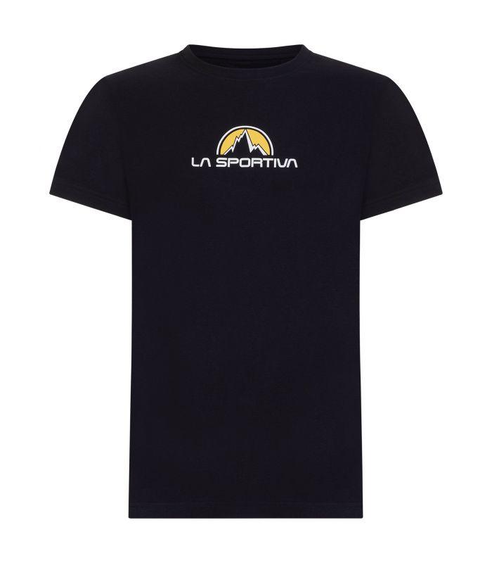 Compra online Camiseta La Sportiva Footstep Tee Hombre Negro en oferta al mejor precio
