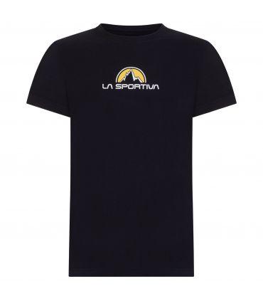 Camiseta La Sportiva Footstep Tee Hombre Negro