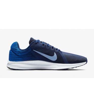 Zapatillas Nike Downshifter 8 Hombre Azul Gris