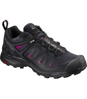Zapatillas de trekking Salomon X Ultra 3 Mujer Graphite