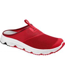 Zapatillas descanso Salomon RX Slide 4.0. Hombre Rojo. Oferta y Comprar online