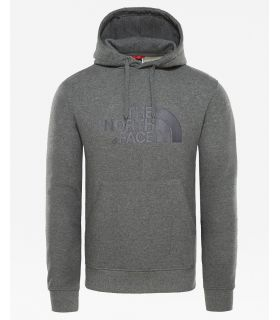 Sudadera The North Face Light Drew Peak Hombre Gris. Oferta y Comprar online