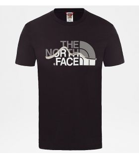 Camiseta The North Face Mountain Line Hombre Negro
