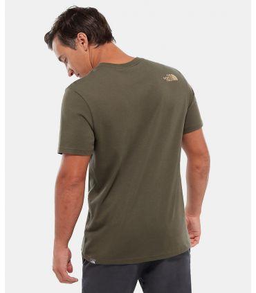 Camiseta The North Face Mountain Line Hombre Topo