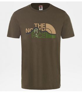 Camiseta The North Face Mountain Line Hombre Topo. Oferta y Comprar online