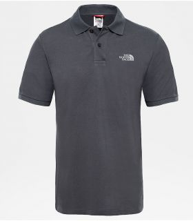 Polo The North Face Polo Piquet Hombre Gris Asfalto