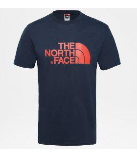 Camiseta The North Face Easy Tee Hombre Navy Rojo