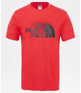 Camiseta The North Face Easy Tee Hombre Salsa Roja. Oferta y Comprar online