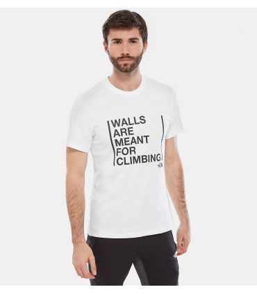 Camiseta The North Face SS Walls Climb Hombre Blanco