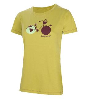 Camiseta Trango World Ligures Mujer Verde. Oferta y Comprar online