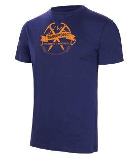 Camiseta Trango World Baldo Hombre Azul
