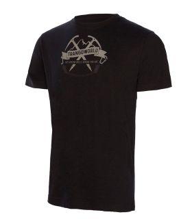 Camiseta Trango World Baldo Hombre Negro. Oferta y Comprar online