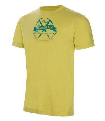 Camiseta Trango World Baldo Hombre Verde