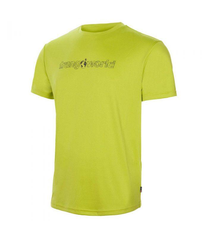 Compra online Camiseta Trango World Yesera Hombre Verde en oferta al mejor precio