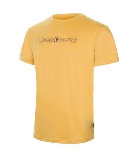 Camiseta Trango World Yesera Hombre Oro