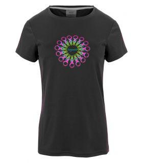 Camiseta Trango World Orles Mujer Ebony. Oferta y Comprar online