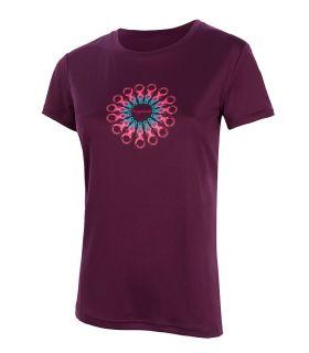Camiseta Trango World Orles Mujer Violeta. Oferta y Comprar online